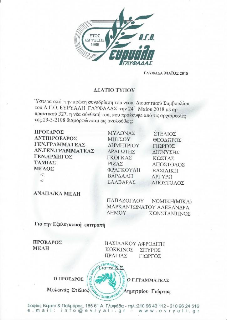 DELTIO TYPOU EKLOGVN-001
